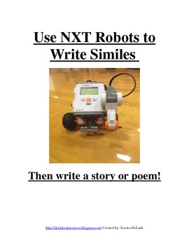 Using NXT Robots to Write Similes