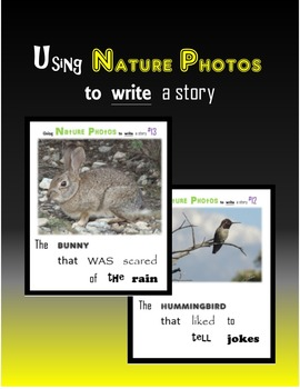 Using Nature Photos to write a story