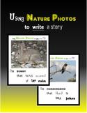Using Nature Photos to Write a Story - Narrative Writing (Print + Digital)