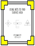 Using Nets to Find Surface Area- 6.G.4