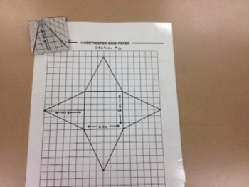Using Nets to Find Surface Area (6th Grade Common Core)