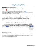 Using New Google Sites
