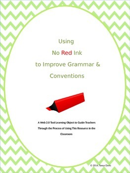 Using No Red Ink to Improve Grammar and Conventions