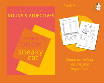 Using Nouns And Adjectives (Improve Your English Work Packs) 9-14 years