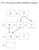 Using Number Bonds in Addition