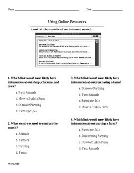 Using Online Resources
