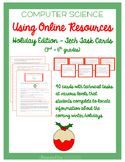 3rd - 6th: Online Resources Task Cards - Holiday Edition (