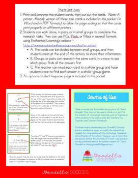 1st & 2nd: Online Resources Task Cards - Holiday Edition (for PC, Mac, and iPad)