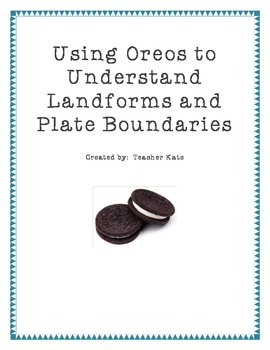 Plate tectonic oreo teaching resources teachers pay teachers using oreos to teach plate tectonics using oreos to teach plate tectonics freerunsca Image collections