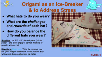 Using Origami in School Counseling