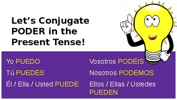 Using PODER & GUSTAR in Spanish! (Present Tense with Q&A)