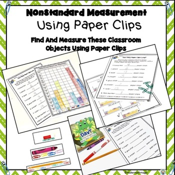 Non-Standard Measuring Using Paper Clips