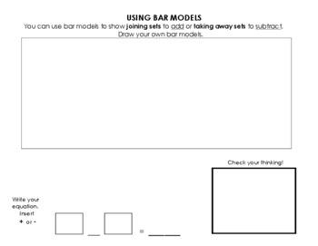 Using Part - Part Whole Bar Models and Comparison Bar Models