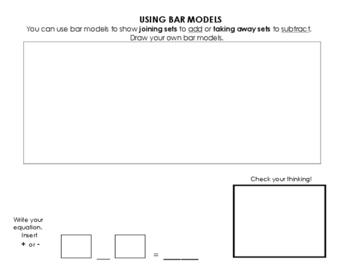 Using Part - Part Whole Bar Models and Comparison Bar Models