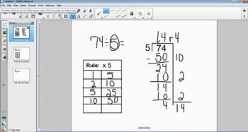 Using Partial Quotients to Divide (with remainders)