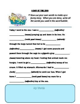 Using Parts of Speech