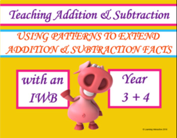 Using Patterns to Extend Addition and Subtraction Facts