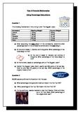 Using Percentage Calculations - Worksheet