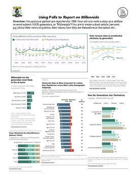 Using Pew and Gallup Polls to Report on Millennials: Politics and Values