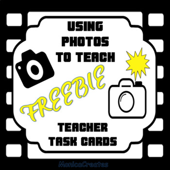 READING STRATEGY: Using Photos To Teach - Teacher Task Cards