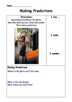 Using Photos When Predicting