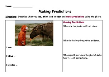 Using Photos for Predicting