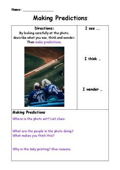 Using Photos to Make Predictions