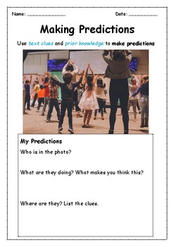 Using Photos to Predict ONE WEEK of Warm-ups