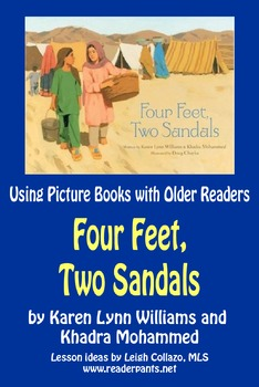 Using Picture Books With Older Readers: Four Feet, Two Sandals