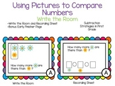 Using Pictures to Compare Numbers and Subtract-Write the Room