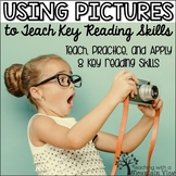 Using Pictures to Teach Reading Skills | Distance Learning | Google Classroom