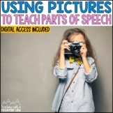 Using Pictures to teach Parts of Speech | Distance Learning | Google Classroom