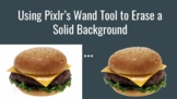 Using Pixlr's Wand Tool to Erase a Solid Background - Remove Backgrounds Easily