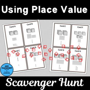 Using Place Value Scavenger Hunts