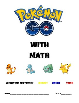 Using Pokemon Go While Working with Ratios and Proportions
