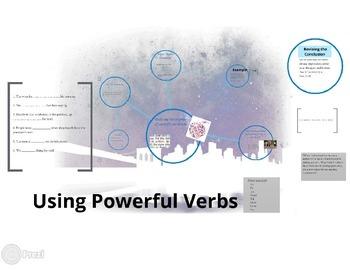 Using Powerful Verbs prezi