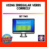 Using Principal Parts of Irregular Verbs Distance Learning