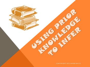 Using Prior Knowledge to Infer Reading Strategy PowerPoint