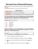 Using Pronouns | Pronoun References | Pronoun Cases | Test & Reviews | Gr 9-10