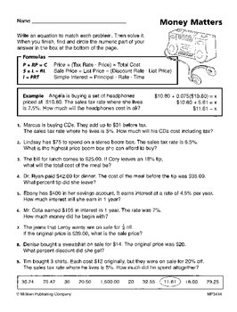 Using Proportions to Solve Ratio and Percent Problems (CCSS 7.RP.A.3)