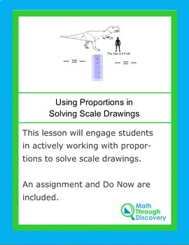 Using Proportions to Solve Scale Drawings in Geometry