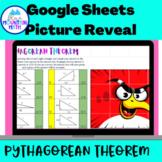 Using Pythagorean Theorem Google Sheets Activity--Digital