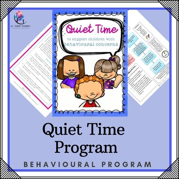 Using Quiet Time as a Consequence of Misbehaviour - Behaviour Support Resource