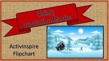 Using Quotation Marks