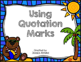 Using Quotation Marks Power Point