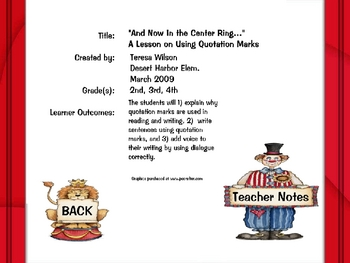 Using Quotation Marks  - PowerPoint