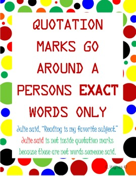 Using Quotations Texting Teachers
