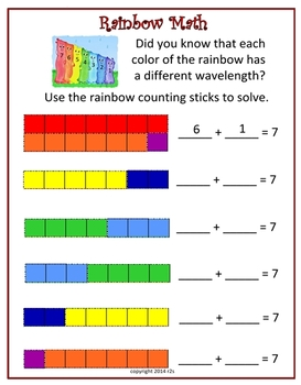 Using Rainbows to Enhance the Curriculum for PreK Through First Grade