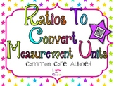Using Ratios to Convert Measurement Units **QR CODE Task Cards**