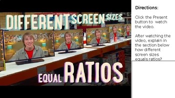 Using Ratios to Solve Real-World Problems